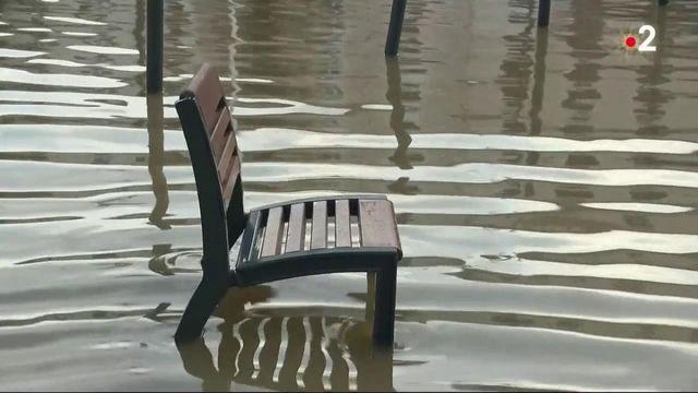 Intempéries dans les Landes : un réveillon les pieds dans l'eau