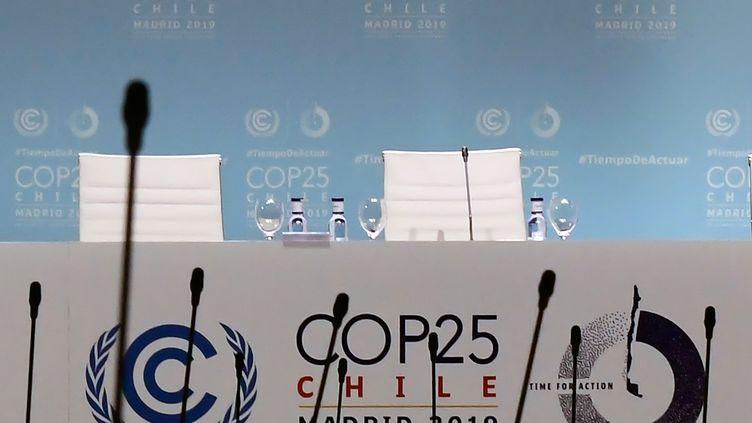 Le sommet de la COP25 à Madrid, le 13 décembre 2019. (CRISTINA QUICLER / AFP)