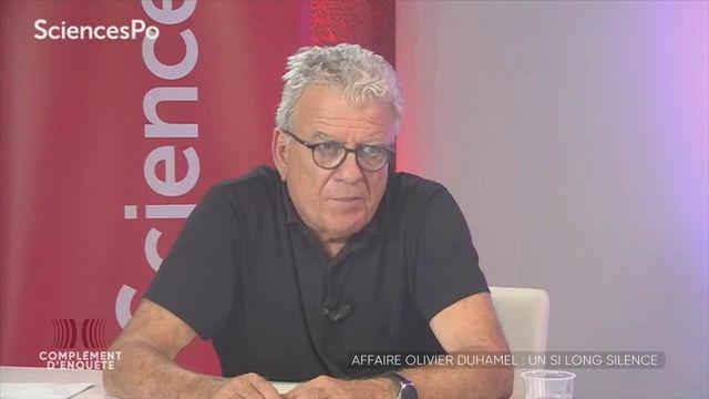 Complément d'enquête. Quand le directeur de Sciences Po a été informé des accusations visant le professeur Olivier Duhamel... il n'a rien changé