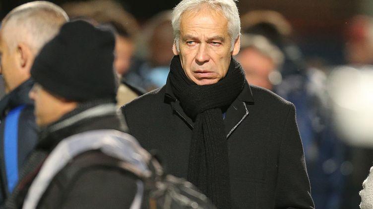 Pierre Mankowski, sélectionneur de l'équipe de France Espoirs.  (FRANCOIS NASCIMBENI / AFP)