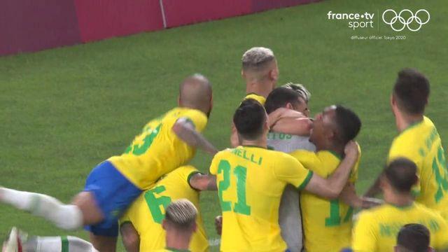Football : le penalty qui envoie le Brésil en finale des Jeux