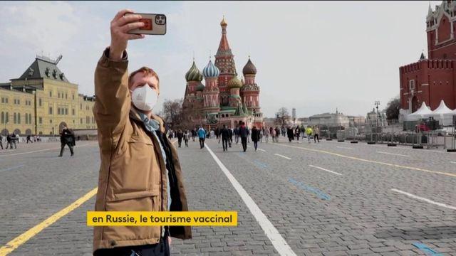 Covid-19 : des touristes allemands vont se faire vacciner en Russie