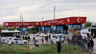 L'entrée de la prison de Sincan, près d'Ankara (Turquie), le 20 juin 2019. (RASIT AYDOGAN / ANADOLU AGENCY / AFP)