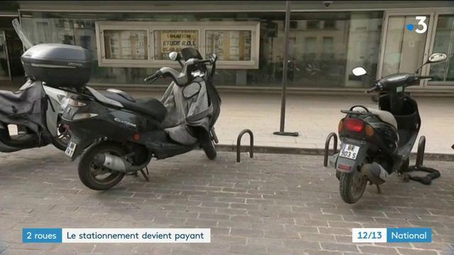 Deux-roues : le stationnement devient payant dans certaines communes