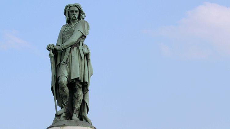 La statue de Vercingétorix à Alise-Sainte-Reine  (TARDIVON JEAN CHRISTOPHE/SIPA)