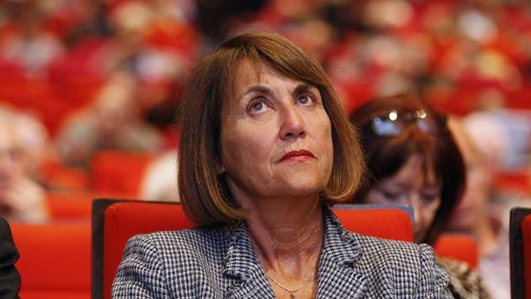 (Christine Albanel à l'assemblée générale du groupe Orange le 5 juin 2012 © Maxppp)