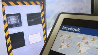 Illustration sur les radars détectés sur des comptes Facebook -Mulhouse (Haut-Rhin) le 9 Septembre 2014 (  MAXPPP)