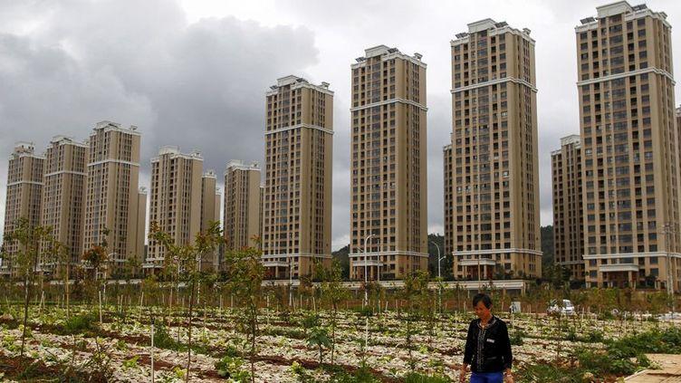 Immeubles vides dans la pronvince du Yunnan. Quartier Chengong août 2015 (Reuters/ Wong campion)