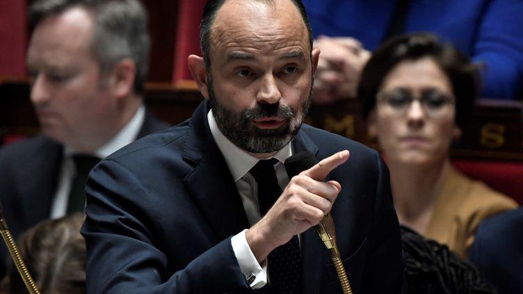 le Premier ministre Edouard Phillipe, le 11 janvier 2020. (STEPHANE DE SAKUTIN / AFP)