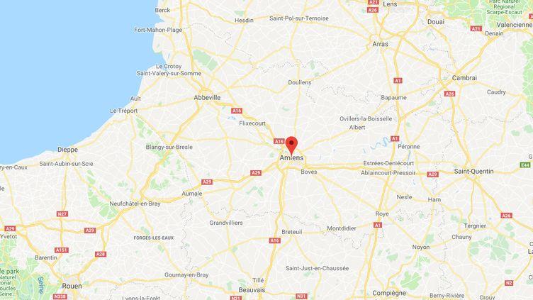 Amiens, dans la Somme. (GOOGLE MAPS)