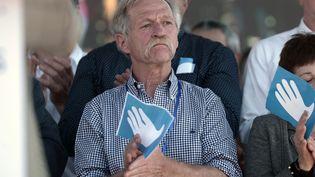 José Bové, à Bayonne, en avril 2017. (IROZ GAIZKA / AFP)