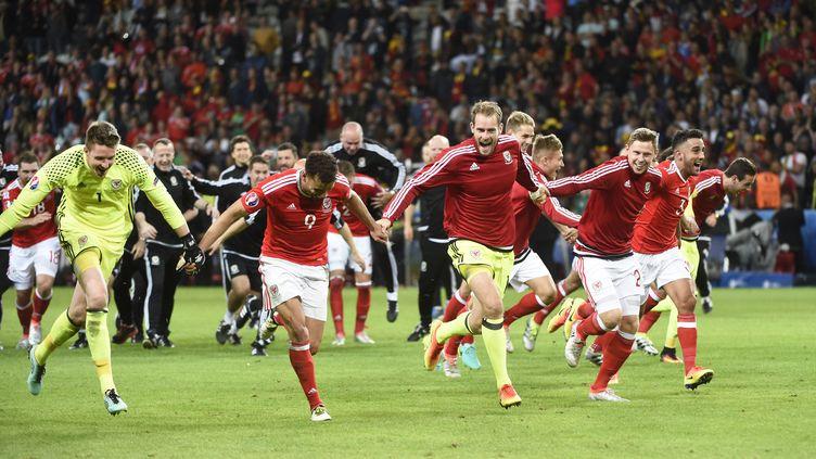 La joie des joueurs du pays de Galles (JEAN MARIE HERVIO / DPPI MEDIA)