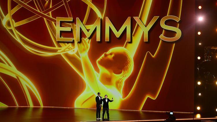 La scène des Emmy Awards en 2019. (FREDERIC J. BROWN / AFP)