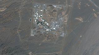 Une vue satellite du complexe nucléaire de Natanz, en Iran, le 8 janvier 2020. (SATELLITE IMAGE MAXAR TECH / AFP)