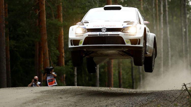 Le pilote finlandais Jari-Matti Latvala