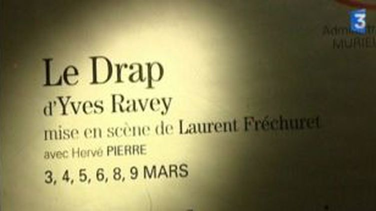 """""""Le Drap"""", d'Yves Ravey, à la Comédie-Française  (Culturebox)"""