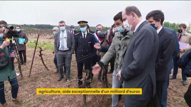 Agriculture : Jean Castex annonce une aide exceptionnelle d'un milliard d'euros