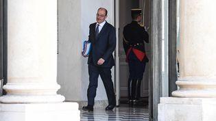 Le Premier ministre Jean Castex après un Conseil des ministres, le 22 juillet 2020 à l'Elysée. (ALAIN JOCARD / AFP)