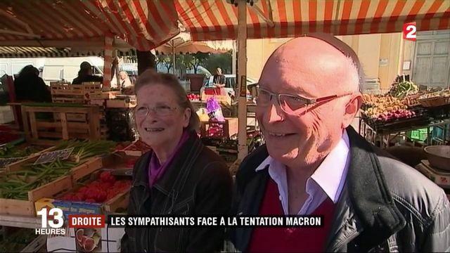 Les sympathisants de droite face à la tentation Macron
