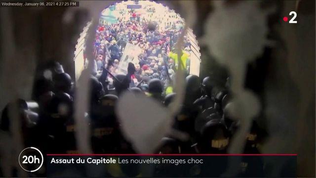 États-Unis : de nouvelles vidéos témoignent de la violence de l'attaque du Capitole