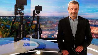 Thierry Thuillier, directeur de l'information de TF1. (JEAN-BAPTISTE QUENTIN / MAXPPP)