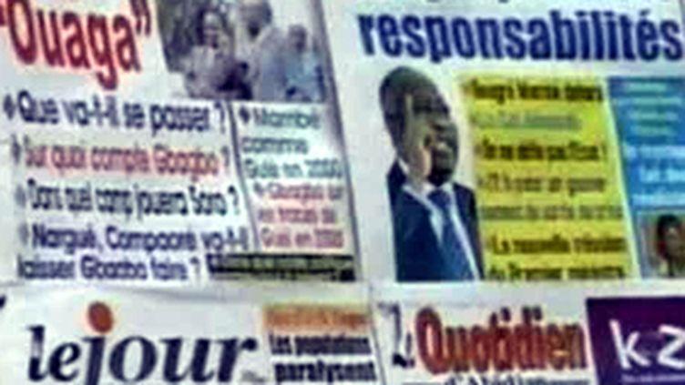 La presse ivoirienne, le 13 février 2010 (France 2)