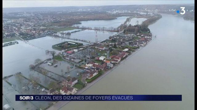 Inondations : des dizaines de foyers évacués à Cléon