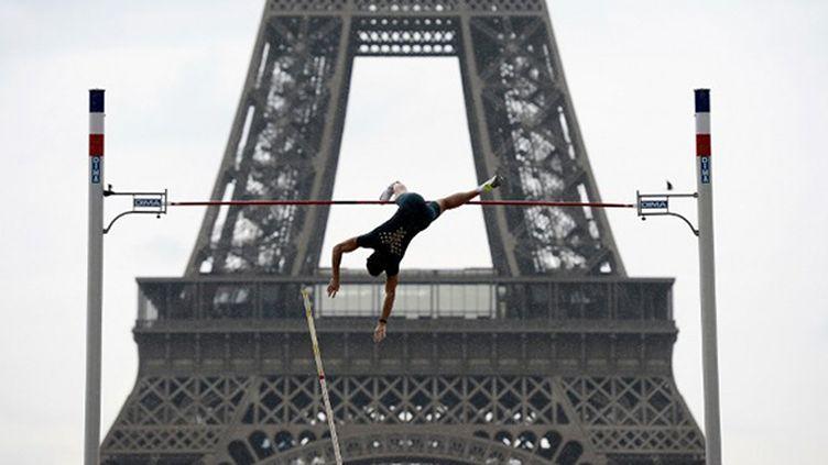 En 2014, une exhibition de la perche avait été organisée devant la Tour Eiffel