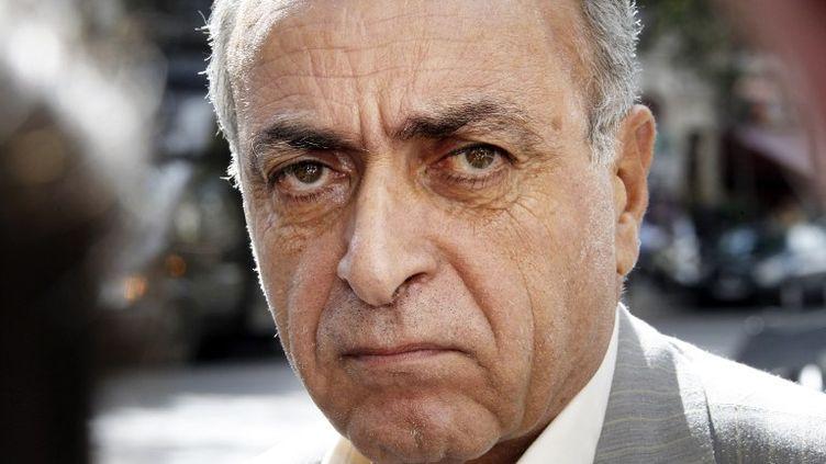 L'homme d'affaires Ziad Takieddine, mis en examen dans le volet financier de l'affaire Karachi, à Paris, le 14 septembre 2011. (THOMAS SAMSON / AFP)