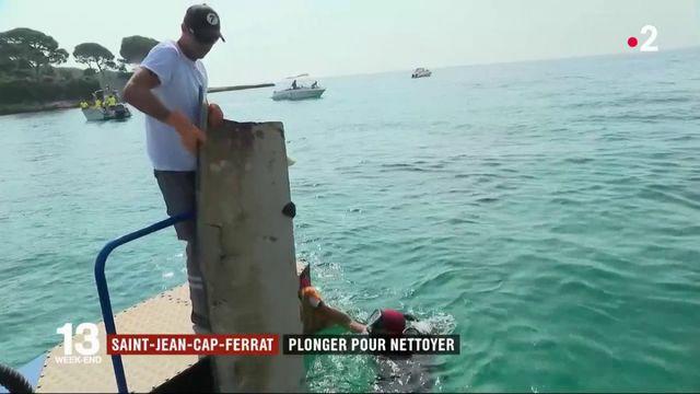 Saint-Jean-Cap-Ferrat : plonger pour nettoyer