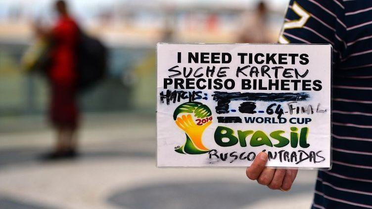 L'affaire des billets aura fait parler durant ce Mondial au Brésil. (GABRIEL BOUYS / AFP)