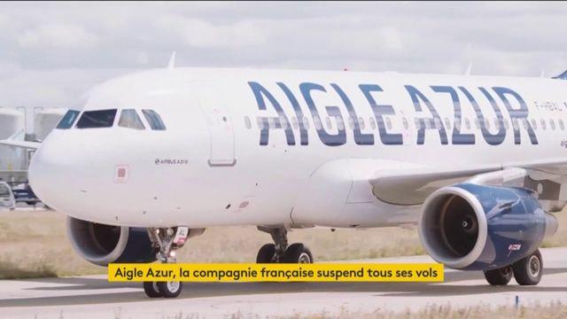 Aigle Azur suspend tous ses vols