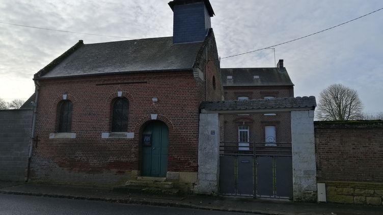 Lepresbytère de Saint-André-Farivillers, où habitait l'abbé Matassoli entre 1967 et 2009. (FLAVIEN GROYER / RADIO FRANCE)