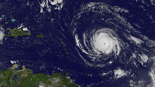 L'ouragan Irma, photographié le 4 septembre 2017 au dessus de l'Atlantique. (NASA / GOES PROJECT)