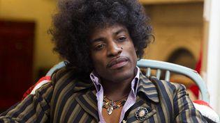 "Andre 3000 de Outkast est Jimi Hendrix dans le biopic ""All is by my side"".  (Matador Productions)"