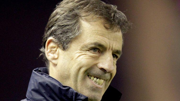 Pierre Berbizier, le coach du Racing-Métro