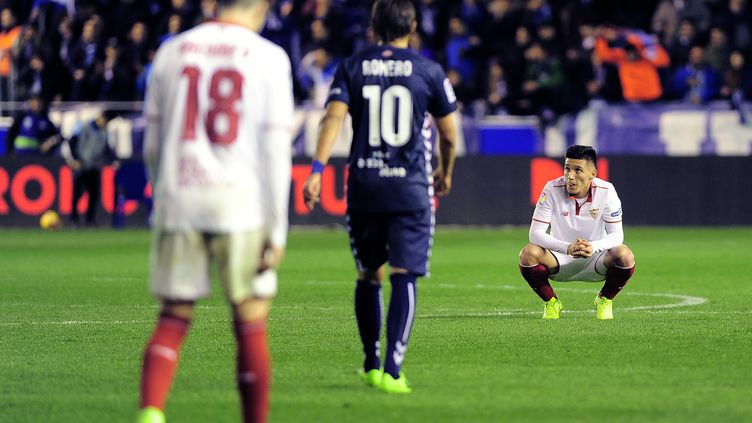 Claudio Mathias Kranevitter (FC Séville) (ANDER GILLENEA / AFP)