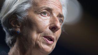 Christine Lagarde, le 2 juillet 2014, à Washington (Etats-Unis). (JIM WATSON / AFP)