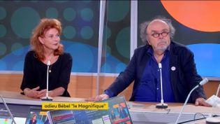 Agathe Natanson et Jean-Michel Ribes (FRANCEINFO)