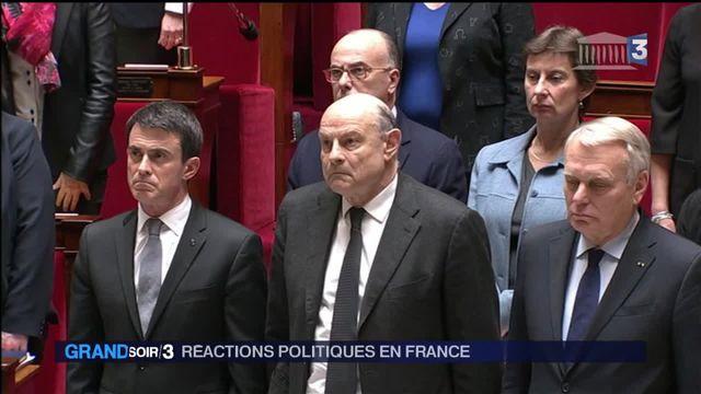 Réactions en France