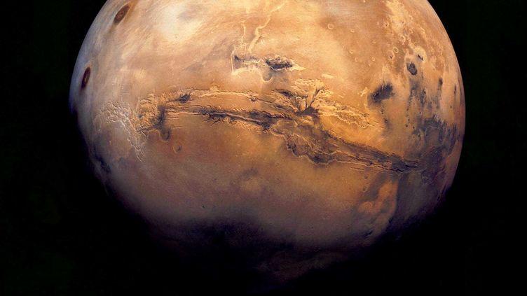 La planète Mars pourrait voir un jour se former un anneau. (NASA/SIPA)