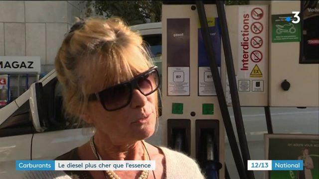 Carburants : le diesel plus cher que l'essence