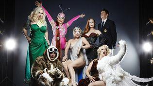 Le Cabaret New Burlesque est invité au Festival d'Ile de France.  (Guy Vivien)
