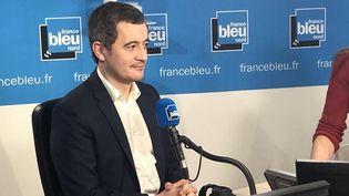 Le ministre de l'Action et des Comptes publics Gérald Darmanin invité vendredi 31 janvier de France Bleu Nord. (FRANCE BLEU NORD)