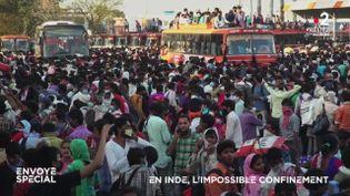 En Inde, l'impossible confinement (ENVOYÉ SPÉCIAL  / FRANCE 2)