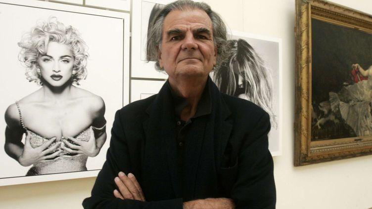 Le photographe Patrick Demarchelier  (Michel Euler/AP/SIPA)