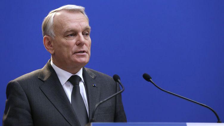 Jean-Marc Ayrault, à Paris, le 30 novembre 2012. (KENZO TRIBOUILLARD / AFP)