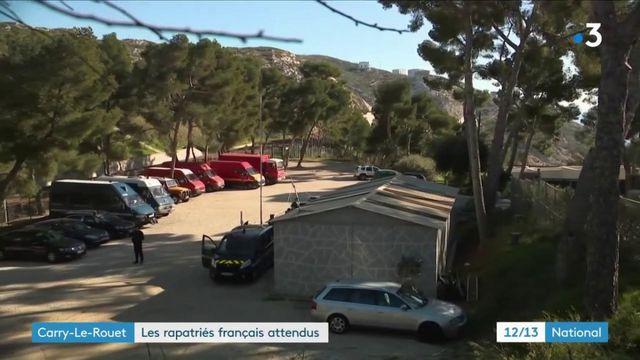 Coronavirus : les Français rapatriés placés en isolement à Carry-le-Rouet