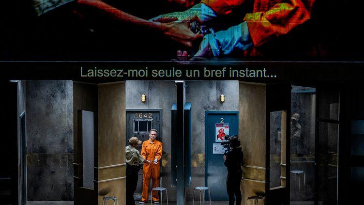 """Répétition du """"Palais enchanté"""" à l'auditorium de Dijon, le 2 décembre 2020. (JEFF PACHOUD / AFP)"""