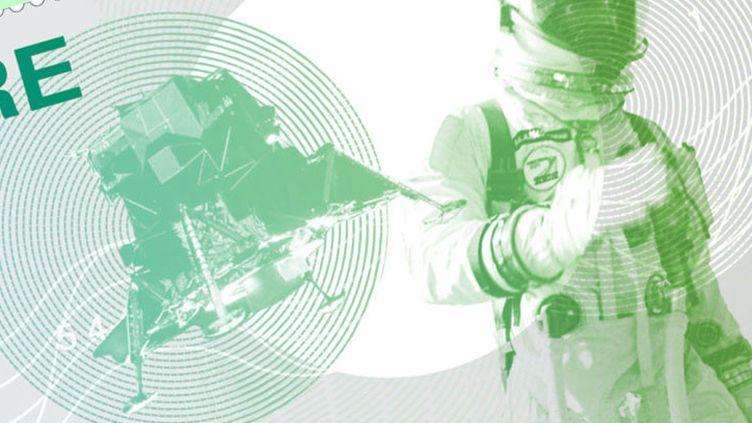 L'un des timbres commémoratifs créés par la poste irlandaise à l'occasion des 50 ans de la misison Apollo 11, en juillet 2019. (AN POST)